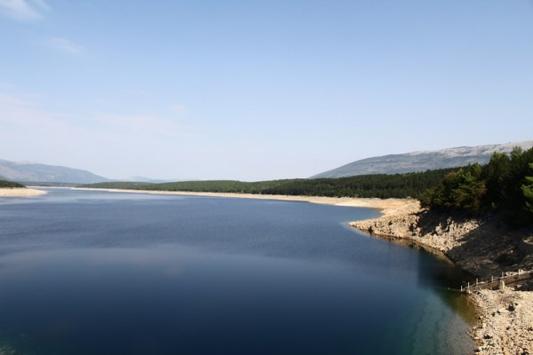 Peruća artificial lake